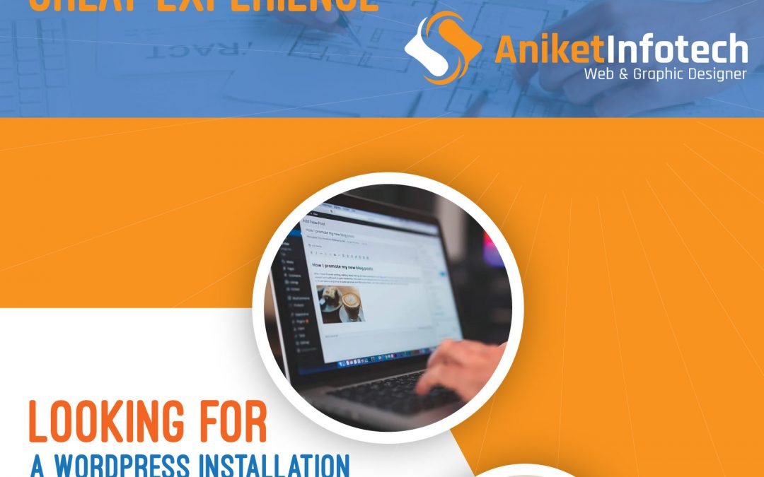 install and customize your wordpress Website by Anydesk